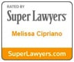 Super Lawyers Melissa Cipriano